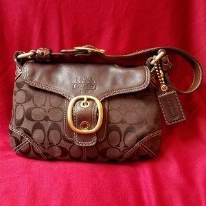NWOT Signature Coach hobo bag purse